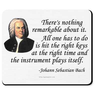 the life of johann sebastian bach Martin geck, who has written extensively about bach, is a committed and erudite  scholar, and this study is a consummation of much of his own.