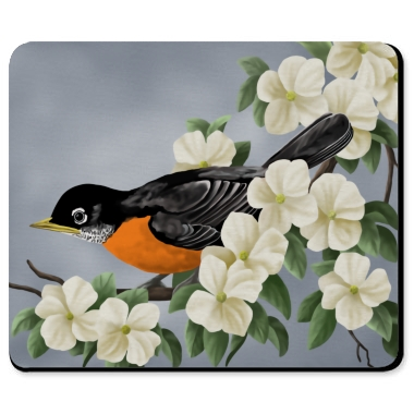 bird mousepads