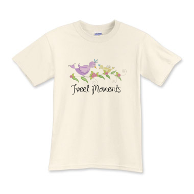 TWEET MOMENTS :: Kids Girls Art T-Shirt - WiNKeLF