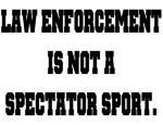 Law enforcement officers have a serious profession, not for the faint of heart. Police shirts with attitude.