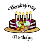 <h1><font size=&quot;2&quot;>Happy Thanksgiving &  birthday t-shirts, Thanksgiving theme gifts! Thanksgiving theme watches, earrings, mugs & gifts at<b>