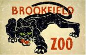 This is a vintage poster from 1936 for the Brookfield Zoo. This retro t-shirt has a distressed look as though you've had it for years.