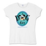 A Dog a Day Logo Women's Apparel