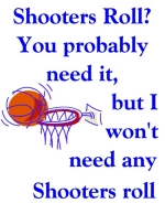 They say that good shooters get the shooters roll, but if you're a great shooter then you don't need to rely on getting the roll at all.