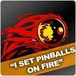 I set pinballs on fire