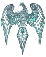 This Turquoise Thunderbird is beautiful in an intricate design that looks great on dark colors.  This makes a special looking gift for anyone, and it's a cool gift for yourself, too!  Don't forget to see our Kitchen Accessories, Mousepads & Tote Bags!
