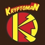 Kryptoman Superhero Logo