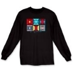 Hobbies and interests are what you will find on this great long sleeve t-shirt. We can customize the shirt by adding your name or the name of your club! Email mkfcox@casscomm.com for further information.