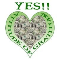A big heart full of money expresses an attitude of gratitude to manifest money!!  The law of attraction at work to manifest wealth, health and prosperity on this tee.  BUY 2 OR MORE AND SAVE!