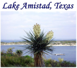 Lake Amistad is a Mecca for bass anglers and recreation entheusiasts from all over the world.