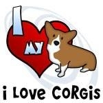 I Love my Corgi Shirts