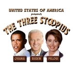 The United States of America presents the newest comedy team...The Three Stoopids! Watch Obama, Biden, and Pelosi plunder their way through Washington DC in a laugh-filled romp! Get your Three Stoopids shirts and more from dirtyword.net