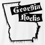 There's one thing that Georgia and this design have in common: they ROCK! Features stylish dripping paint Georgia state outline. Finally, you can get the confidence to rock out in style by wearing the GEORGIA ROCKS t-shirt!