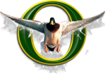 Show your pride with this beautiful Oregon duck design. Makes a great gift for any Duck Fan!