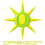 A uniquely Oregon-looking sunburst. Yes folks, the sun does come out here!