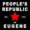 Eugene Oregon is a unique place and this design is VERY appropriate. BUT, do NOT confuse a republic with republicans! (Look it up)