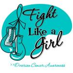 Fight Like a Girl Shirts   Cancer Shirts and GiftsOvarian Cancer Ribbon Fight Like A Girl