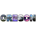 This design displays the finer scenes of the great state of Oregon.