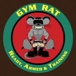 USMC Gym Rat Logo Tee