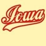 "Look classy and cool with our 'Iowa Classic' design. Exclusive to us, this design features the text ""Iowa"" in a design so cool that even the Fonz would be jealous."