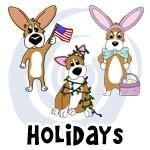 Holidays and Christmas Corgi Gifts