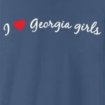 I love Georgia girls. Who doesn't?! Sometimes you just have to declare your love to the whole world, but you don't know how - until now. Studies have shown this tee to be a magnet for Georgia girls... (Not guaranteed!)