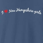 I love New Hampshire girls. Who doesn't?! Sometimes you just have to declare your love to the whole world, but you don't know how - until now. Studies have shown this tee to be a magnet for New Hampshire girls... (Not guaranteed!)