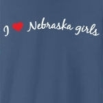 I love Nebraska girls. Who doesn't?! Sometimes you just have to declare your love to the whole world, but you don't know how - until now. Studies have shown this tee to be a magnet for Nebraska girls... (Not guaranteed!)