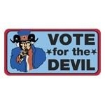 Vote For The Devil Logo