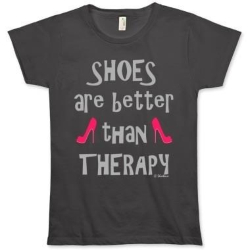 Shoes are better than Therapy