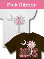 Help find a cure for Breast Cancer and raise awareness with any of our Pink Ribbon items. Proceeds from the sale of all items donated to help find a cure.