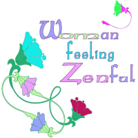 Woman feeling Zentul or did I say Sinful?  A play on words with soothing colors and flowers. This shirt will put any woman in a zen mood of peace and tranquility.  Buy 2 0r more and save.