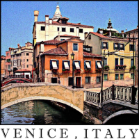 Venice Italy Shirts feature my original art, based on my photography of Venice.  Colorful t-shirts for men, women, boys and girls make great souvenirs of that once in a lifetime trip to Italy.