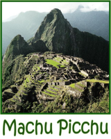 Machu Picchu was recently voted one of the new 7 wonders of the world.  Wear this breathtaking image of Machu Picchu, lost city of the Inca, on a t-shirt or sweatshirt.  It is difficult to buy Machu Picchu shirts in Peru.  New images coming soon!