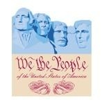 We The People - Mount Rushmore Tee