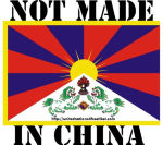 Support Tibetan freedom to practice their own religion and culture. Support Tibetans in Tibet and elsewhere in a peaceful struggle towards freedom from an unlawful Communist Chinese regime. Wear our t-shirt to tell the world Tibet was NOT made in China!