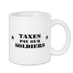 Taxes Pay Our Soldiers