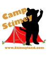 Camp Stimey is new and improved for 2011! Get your camp on with the pontificating gerbil!