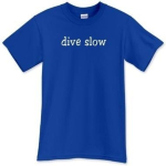"""Dive Slow"" Men's Shirts"