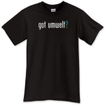 """got umwelt?"" Men's Shirts"