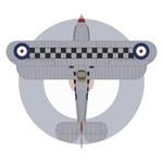Hawker Fury Mk I Great Britain 43 Squadron