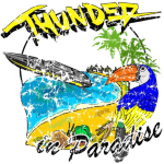 Unique funny Thunder in Paradise  TV Quote T-Shirts by KaptainMyke.