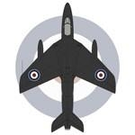 Hawker Hunter F Mk 6 GB 111 Sqn Black Arrows aerobatic team