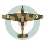 Hawker Hurricane Mk IIC Iranian Air Force