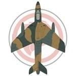Hawker Hunter FGA.74 Singaporean Air Force
