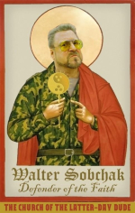 Walter Sobchak has converted to Dudeism. Seven years of beautiful tradition! Onward Dudeist soldiers!