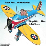 Ann & Mitt Romney Fly A Windowless Plane
