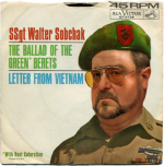 "Originally sung by Sergeant Barry Sadler, Walter Sobchak sings ""Letter From Vietnam."""