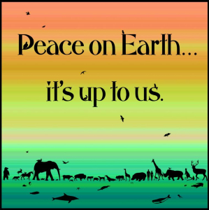 peace on earth begins with all