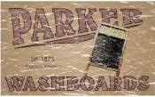 Parker Washboards is reminiscent of advertisements from 1873. This retro t-shirt has a distressed look as though you've had it for years.